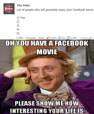 The Facebook Movie Backlash Begins Now..