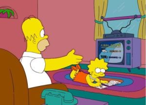 The Simpsons predicting the future since 1989...
